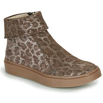 Παπούτσια Κορίτσι Μπότες Catimini CAMOMILLE Brown