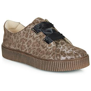 Παπούτσια Κορίτσι Χαμηλά Sneakers Catimini CAVANILLE Leopard