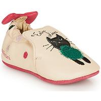 Παπούτσια Κορίτσι Παντόφλες Catimini CALICETTE Beige / Ροζ