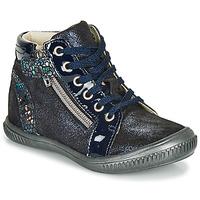 Παπούτσια Κορίτσι Ψηλά Sneakers GBB RACHIDA Μπλέ