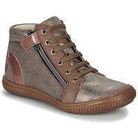 Παπούτσια Κορίτσι Ψηλά Sneakers GBB RACHIDA Brown