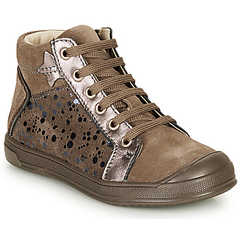 Παπούτσια Κορίτσι Ψηλά Sneakers GBB ORENGETTE Taupe