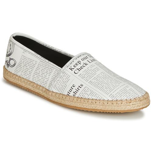 Παπούτσια Άνδρας Εσπαντρίγια John Galliano 6715 Άσπρο