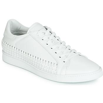 Παπούτσια Άνδρας Χαμηλά Sneakers John Galliano 6712 Άσπρο