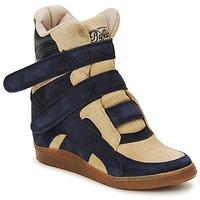 Παπούτσια Γυναίκα Ψηλά Sneakers Buffalo GINGERWA MARINE / Beige