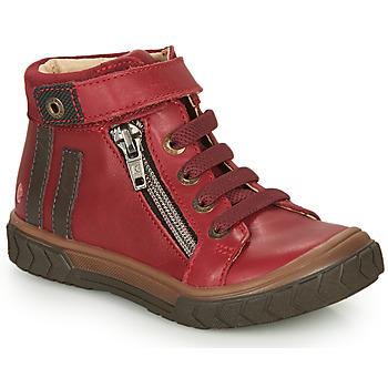 Παπούτσια Αγόρι Ψηλά Sneakers GBB OMAHO Red