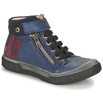 Παπούτσια Αγόρι Ψηλά Sneakers GBB OMAHO Μπλέ