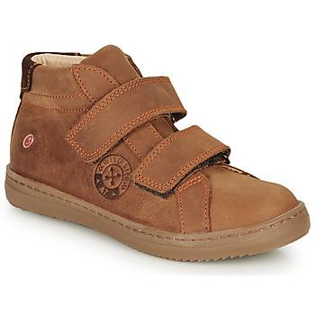 Παπούτσια Αγόρι Ψηλά Sneakers GBB NAZAIRE Brown