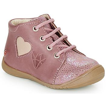 Παπούτσια Κορίτσι Ψηλά Sneakers GBB OCALA Vieux / Ροζ