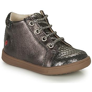 Παπούτσια Κορίτσι Ψηλά Sneakers GBB FAMIA Grey / Silver