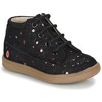 Παπούτσια Κορίτσι Μπότες GBB NINON Black / Ροζ