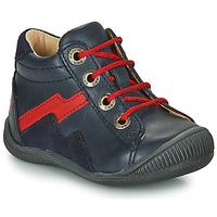 Παπούτσια Αγόρι Ψηλά Sneakers GBB ORAM Μπλέ