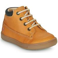 Παπούτσια Αγόρι Ψηλά Sneakers GBB NORMAN Ocre