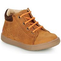 Παπούτσια Αγόρι Ψηλά Sneakers GBB FOLLIO Cognac