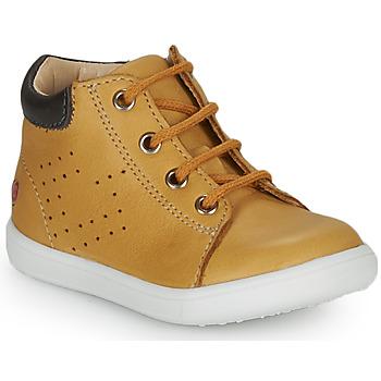 Παπούτσια Αγόρι Ψηλά Sneakers GBB FOLLIO Ocre