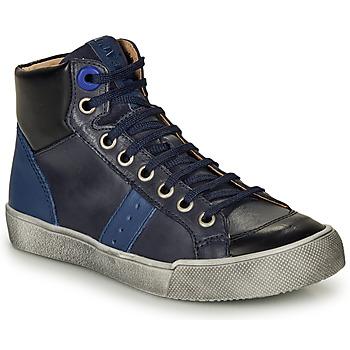 Παπούτσια Αγόρι Ψηλά Sneakers GBB OSTRAVI Μπλέ