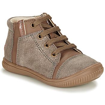 Παπούτσια Κορίτσι Ψηλά Sneakers GBB OUNA Taupe