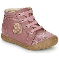 Παπούτσια Κορίτσι Ψηλά Sneakers GBB OTANA Vieux / Ροζ