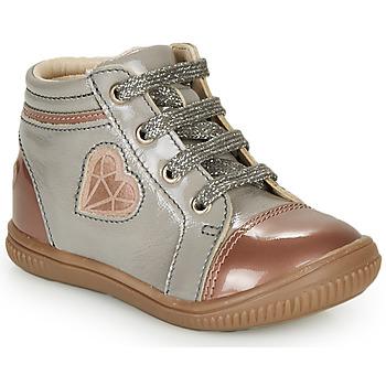 Παπούτσια Κορίτσι Ψηλά Sneakers GBB OTANA Grey / Ροζ