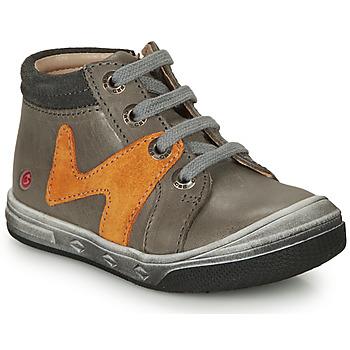 Παπούτσια Αγόρι Ψηλά Sneakers GBB OLINOU Grey / Ocre