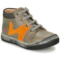 Παπούτσια Αγόρι Ψηλά Sneakers GBB OLINOU Grey
