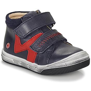 Παπούτσια Αγόρι Ψηλά Sneakers GBB OGROU Μπλέ / Red