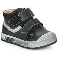 Παπούτσια Αγόρι Ψηλά Sneakers GBB OMALLO Black
