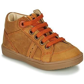 Παπούτσια Αγόρι Ψηλά Sneakers GBB ANGELITO Cognac