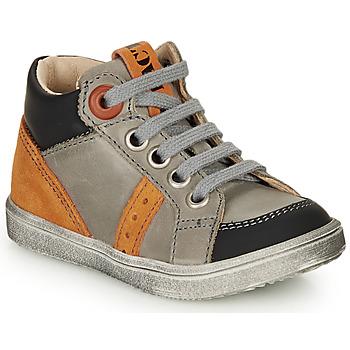 Παπούτσια Αγόρι Ψηλά Sneakers GBB ANGELITO Grey / Orange