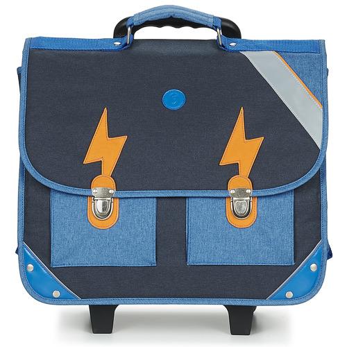 Τσάντες Αγόρι Σχολικές τσάντες με ροδάκια GBB FANOU Μπλέ