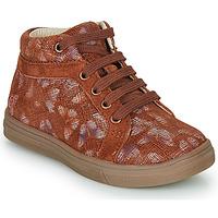 Παπούτσια Κορίτσι Ψηλά Sneakers GBB OMBLINE Brique