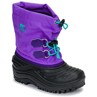 Παπούτσια Παιδί Snow boots Sorel CHILDRENS SUPER TROOPER™ Black / Violet