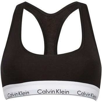 Υφασμάτινα Γυναίκα Αθλητικά μπουστάκια  Calvin Klein Jeans 0000F3785E Nero