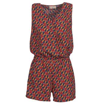 Υφασμάτινα Γυναίκα Ολόσωμες φόρμες / σαλοπέτες Moony Mood KETTELLE Red / Multicolour