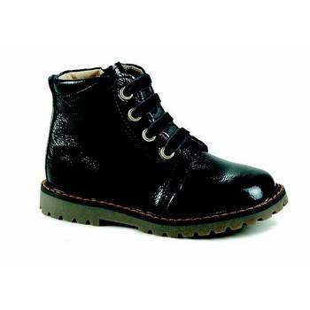 Παπούτσια Κορίτσι Ψηλά Sneakers Catimini CAREA Vvn / Μαύρο-γκρι / Dpf / Agnese