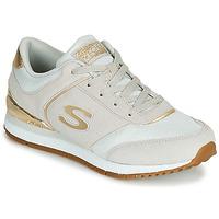 Παπούτσια Γυναίκα Χαμηλά Sneakers Skechers SUNLITE Grey / Gold