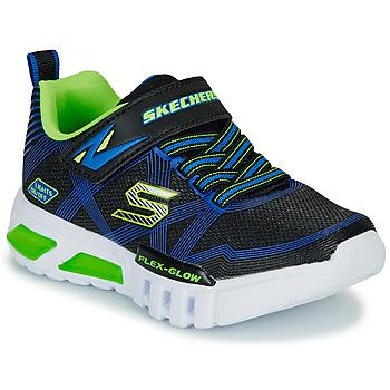 Παπούτσια Αγόρι Χαμηλά Sneakers Skechers SKECHERS BOY Μπλέ / Green