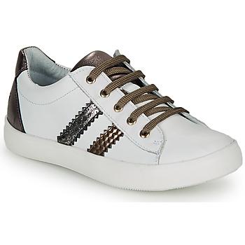 Παπούτσια Κορίτσι Χαμηλά Sneakers GBB MAPLUE Άσπρο