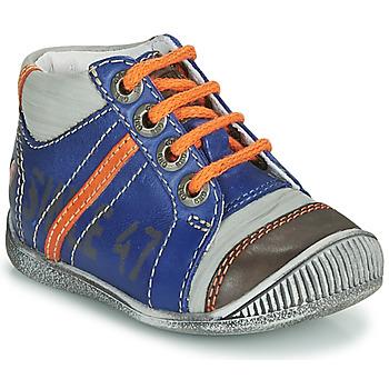 Παπούτσια Αγόρι Μπότες GBB ISIS Μπλέ / Orange