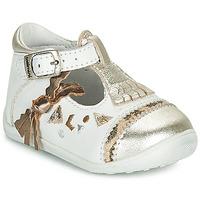 Παπούτσια Κορίτσι Μπαλαρίνες Catimini CANETTE Άσπρο