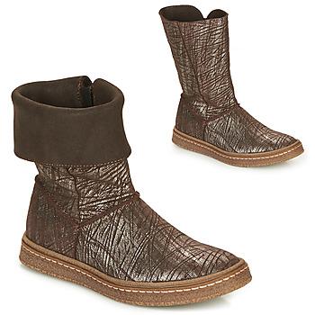 Παπούτσια Κορίτσι Μπότες για την πόλη Ramdam CRACOVIE Brown