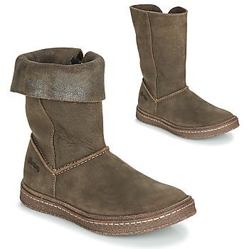 Παπούτσια Κορίτσι Μπότες για την πόλη Ramdam CRACOVIE Kaki