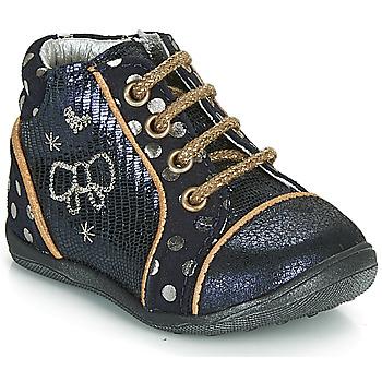 Παπούτσια Κορίτσι Μπότες Catimini CARASSIN Marine / Gold