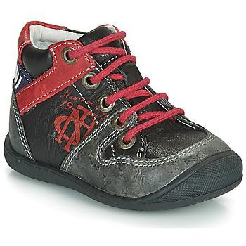 Παπούτσια Αγόρι Μπότες Catimini COMATULE Black / Red