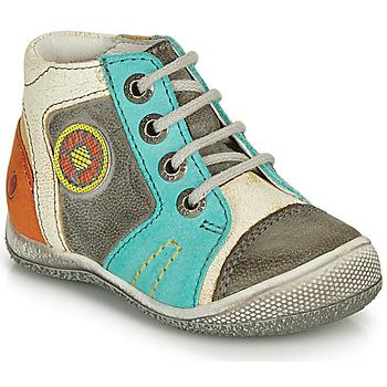 Παπούτσια Αγόρι Μπότες GBB MONTGOMERY Grey / Μπλέ