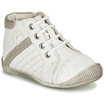 Παπούτσια Αγόρι Μπότες GBB MATYS Άσπρο