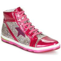 Παπούτσια Κορίτσι Ψηλά Sneakers Ramdam KATO Ροζ