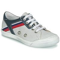 Παπούτσια Αγόρι Χαμηλά Sneakers Ramdam KAGOSHIMA Άσπρο / Μπλέ