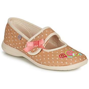 Παπούτσια Κορίτσι Παντόφλες GBB MELINA Beige