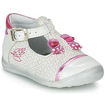 Παπούτσια Κορίτσι Σανδάλια / Πέδιλα Catimini CALATHEA Άσπρο / Ροζ